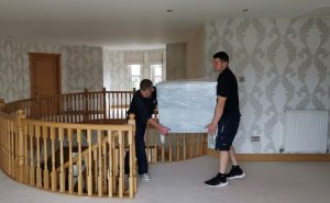 Home removal in progress - larbert carriers